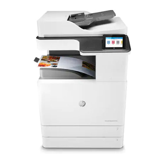 HP LaserJet Managed MFP E77422dv - Vista frontal