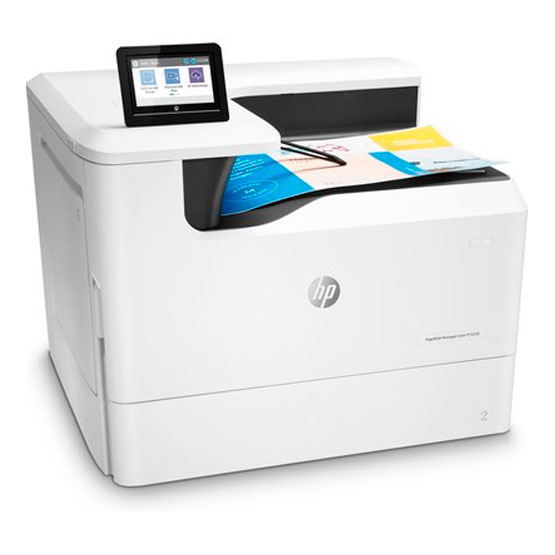 HP PageWide Managed P75250dn - Vista angular
