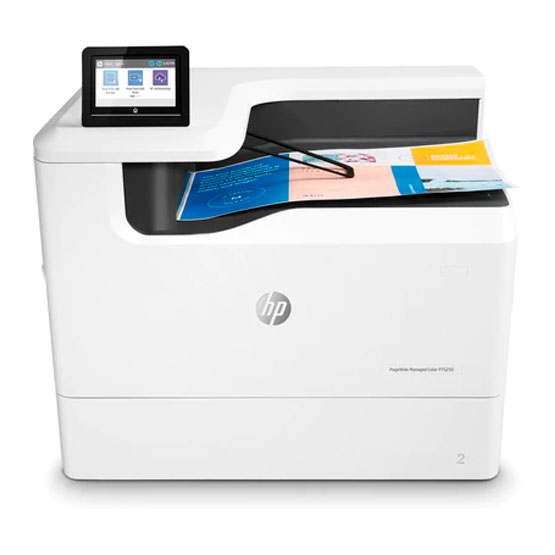 HP PageWide Managed P75250dn - Vista frontal