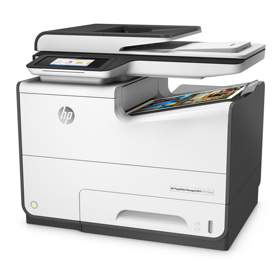 HP PageWide Managed P57750dn - Vista angular