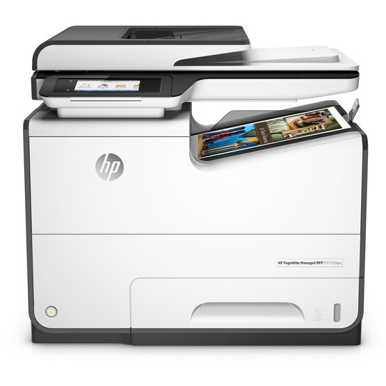 HP PageWide Managed P57750dn - Vista frontal