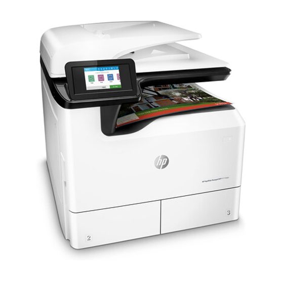 HP PageWide Managed P77740dn - Vista angular