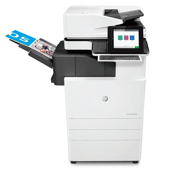Hp Color Laserjet Managed Mfp E876 Series