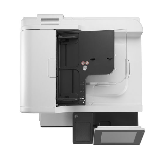HP LaserJet Enterprise M775 - Vista superior