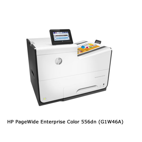 HP PageWide Enterprise 556dn - Vista angular