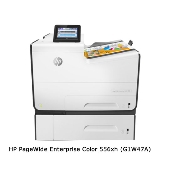 HP PageWide Enterprise 556xh - Vista frontal