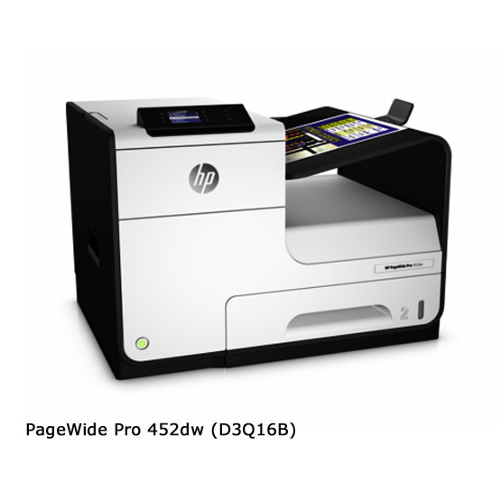 HP PageWide Pro 452dw - Vista frontal