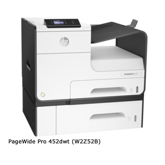 HP PageWide Pro 452dwt - Vista frontal