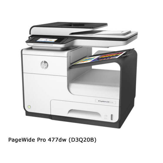 HP PageWide Pro 477dw - Vista frontal